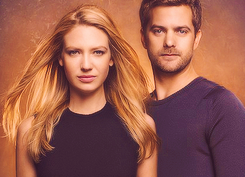 Anna Torv and Joshua Jackson fond d'écran with a portrait called Anna & Josh ♥