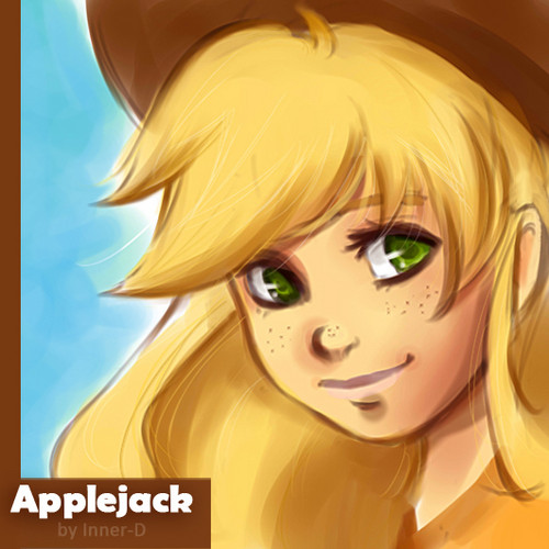 Applejack Humanized - my-little-pony-friendship-is-magic Fan Art