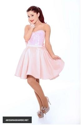 अरियाणा ग्रांडे वॉलपेपर possibly with a कॉकटेल dress and a कुरती, फ्रॉक called Ariana Grande 2012 Photoshoot