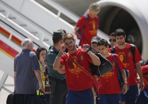 Arrival in Madrid