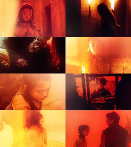 Arya Stark (red)
