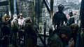 Arya and Hot Pie with Lannister soldiers - arya-stark photo