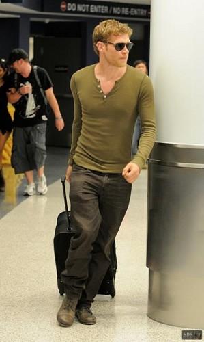 At LA Airport