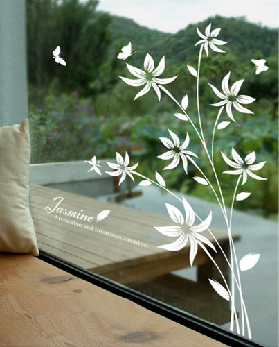Attractive and Luxious gelsomino fiore bacheca Sticker