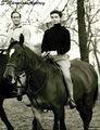 Audrey Hepburn and Mel