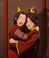 Azula and Ursa - avatar-the-last-airbender fan art