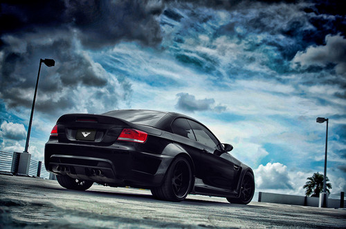 BMW GTRS3 M3 سے طرف کی VORSTEINER