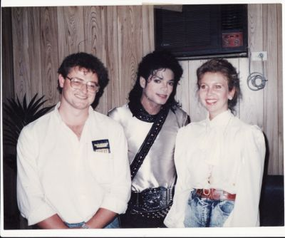 Backstage BAD TOUR !!!!!!!