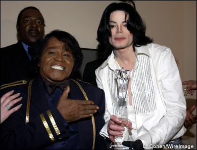Backstage with JAMES BROWN!!!!!!!!