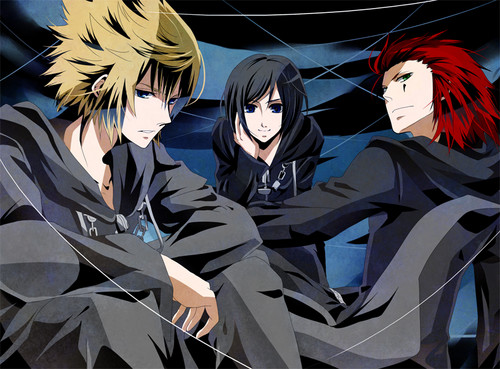 kingdom hearts fondo de pantalla entitled Badass Trio
