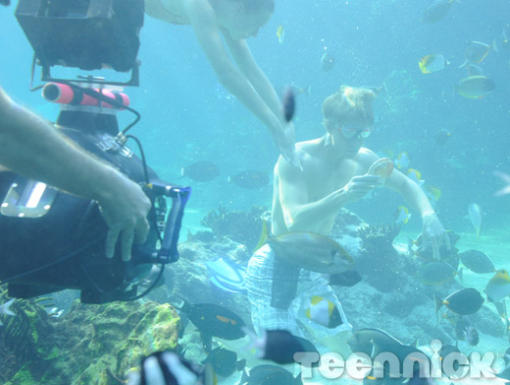 Behind the scenes ~ Underwater