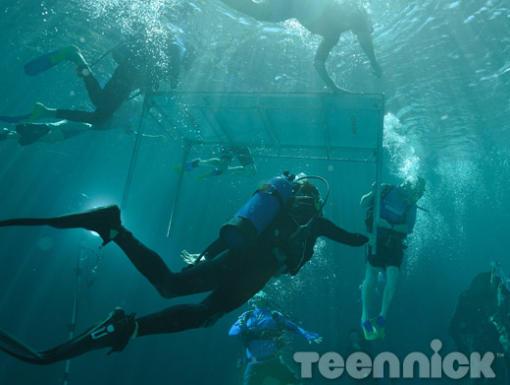 Behind the scenes ~ Underwater