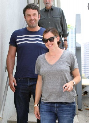 Ben and Jen head to a friend house
