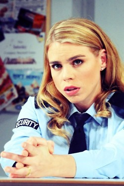 Billie Piper Hintergrund containing a portrait titled Billie Piper