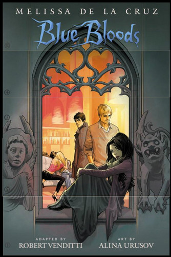 Blue Bloods Graphic Novel Cover