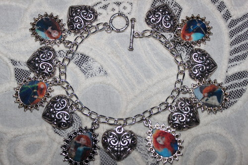 Brave Princess Merida charm bracelet  - brave Fan Art