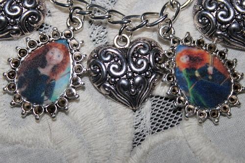 Brave Princess Merida charm bracelet