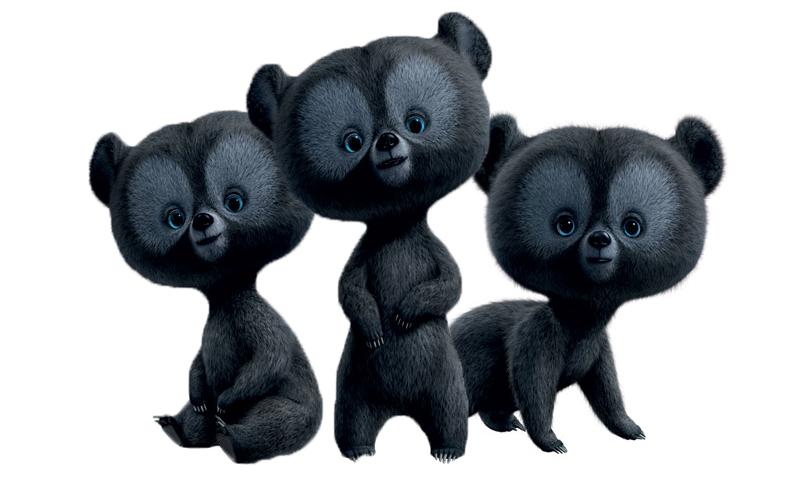 The little triplets bears