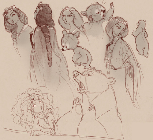 Merida - Legende der Highlands Fan art