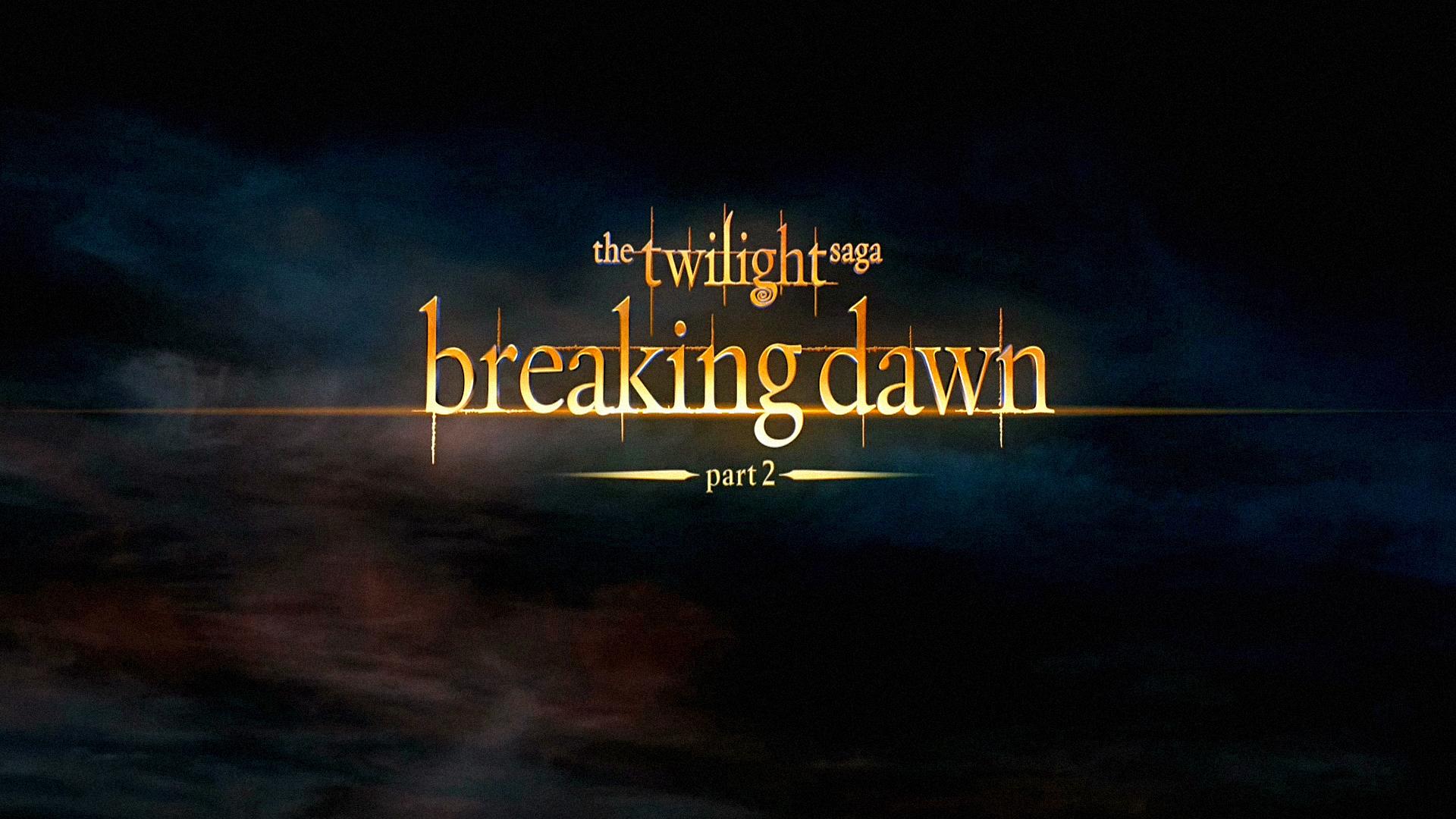 Twilight Breaking Dawn Part 2