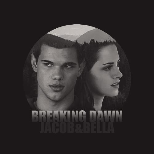 Breaking dawn - Bella and Jacob