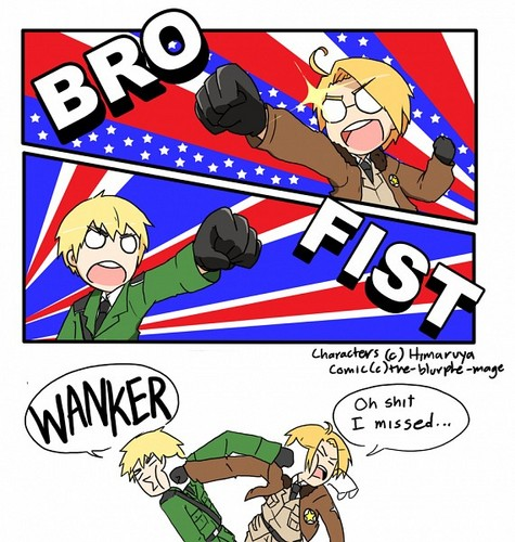 Bro Fist Hetalia Style