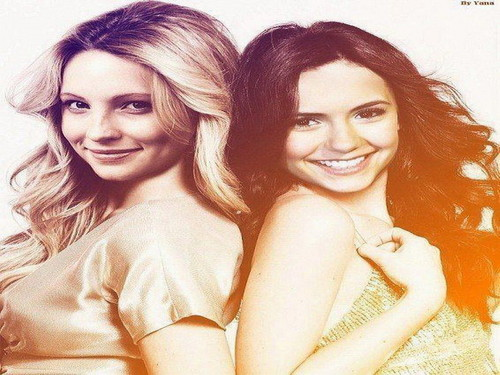 Candice & Nina - candice-accola Wallpaper