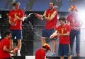 Celebration on Stage - spain-national-football-team photo