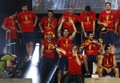 Celebration on Stage - spain-national-football-team photo