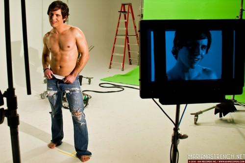 Celebrity Status video shoot