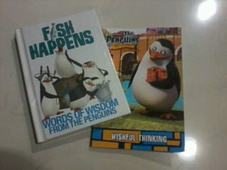 Check out my catch of the day! XD - penguins-of-madagascar Photo