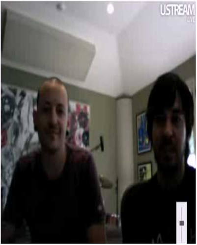 Chester and Mike Live Recorded Chat