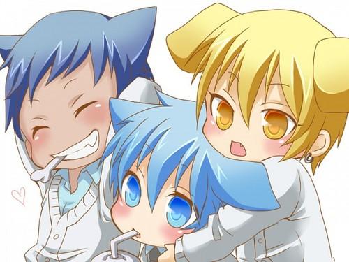 Kurokos Basket Fond Decran Containing Anime Entitled Chibi Kuroko No Basuke
