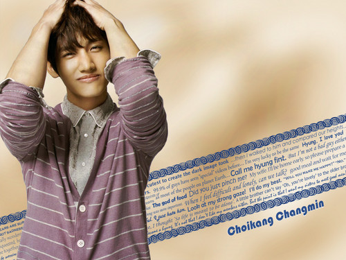 Max Changmin wallpaper containing a well dressed person called Choikang Changmin wallpaper