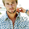 Chris Hemsworth photo containing a portrait titled Chris Hemsworth