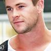 Chris Hemsworth photo with a portrait titled Chris Hemsworth