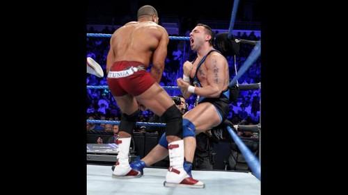 Christian and Santino vs Otunga and Rhodes