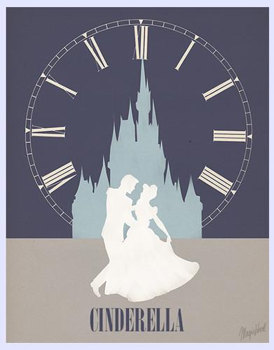 Aschenputtel Minimalist Poster