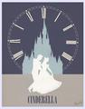 Cinderella Minimalist Poster
