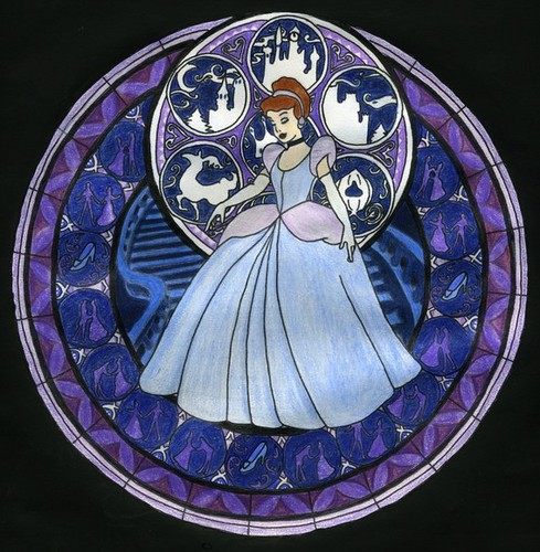 Cinderella Stained Glass