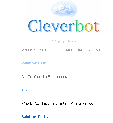 Cleverbot FAIL!