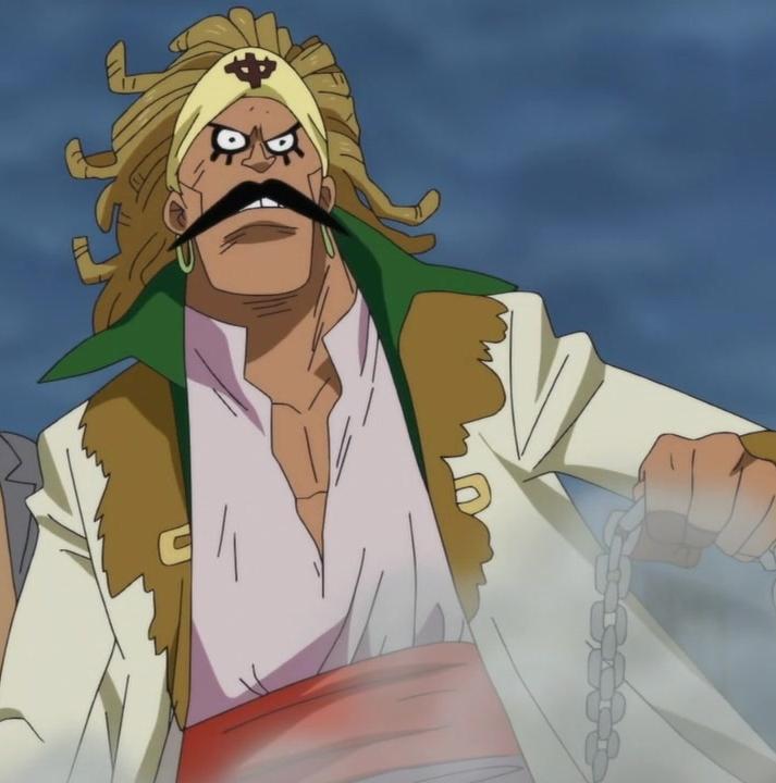 Commander of the seventh division Rakuyou