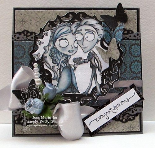 Corpse Bride wallpaper titled Corpse Bride Card