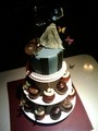 Corpse Bride's wedding cake