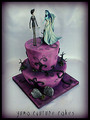 Corpse Bride's wedding cake
