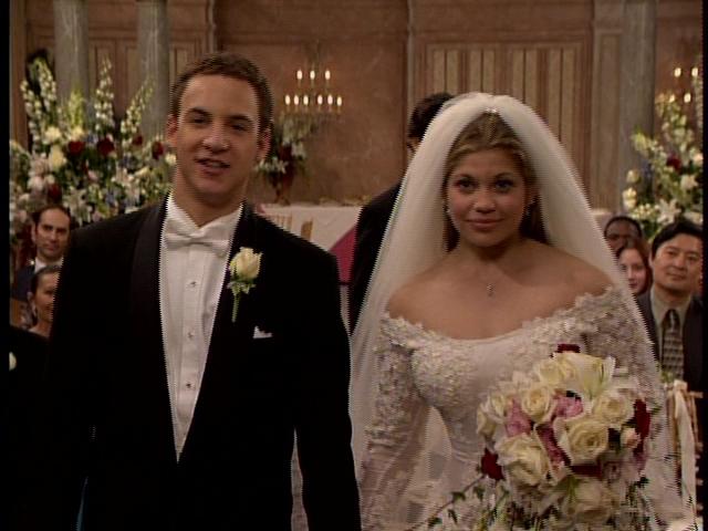 Cory and Topanga's wedding