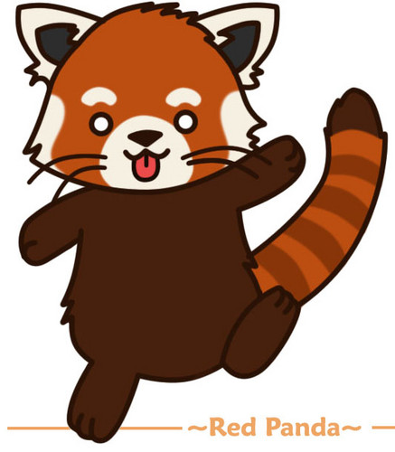Red Pandas wolpeyper entitled Cute Red Panda