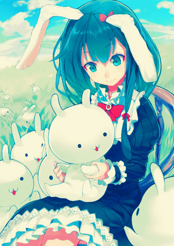 Anime wallpaper probably with anime entitled Cute anime girls
