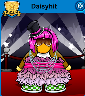 Daisyhit cp's newest STAR - club-penguin Photo