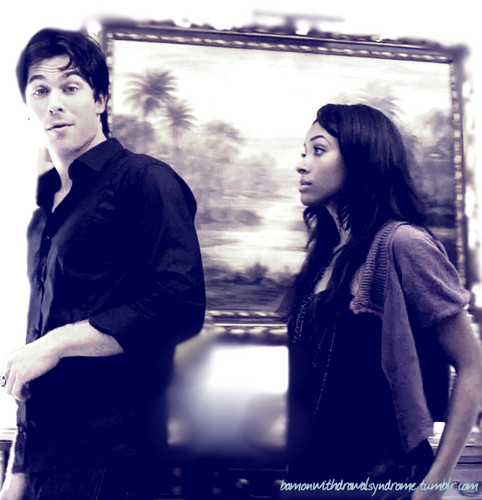 Damon And Bonnie, only them - damon-and-bonnie Fan Art